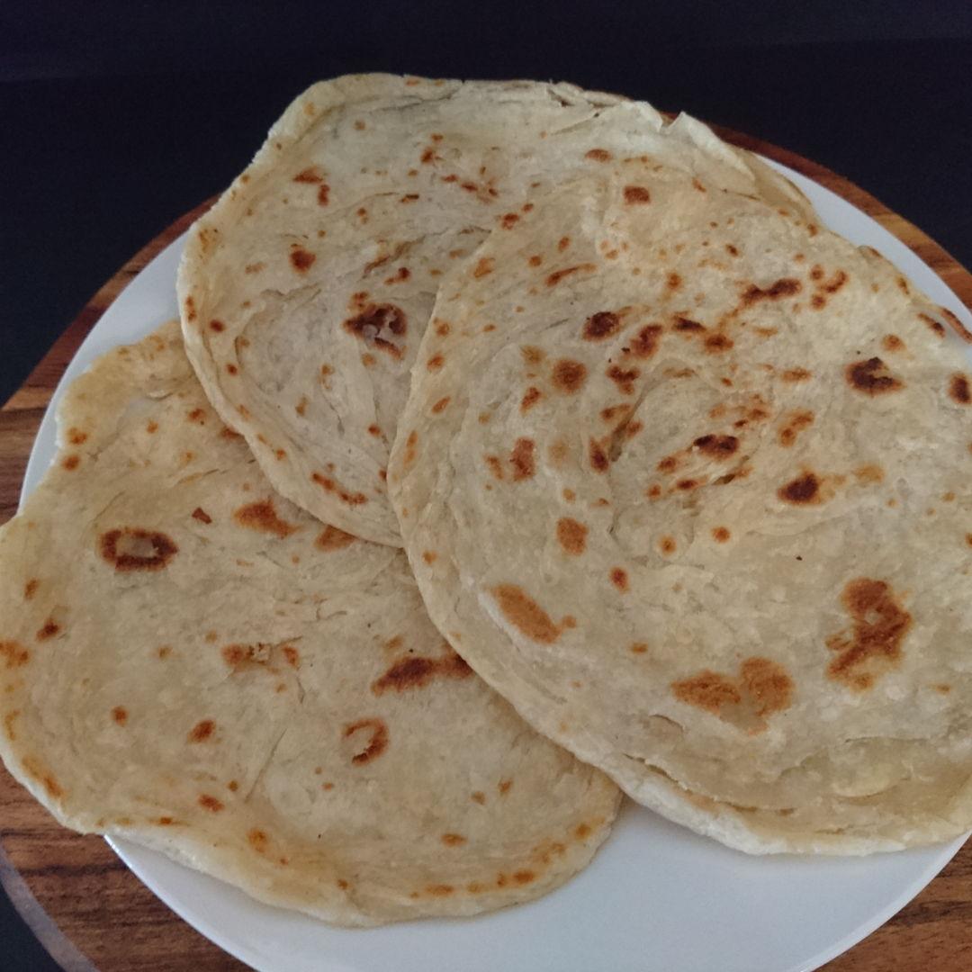 Date: 25 Nov 2019 (Mon) 6th Breakfast: Roti Canai (Indian Flatbread) [118] [120.5%] [Score: 6.0]