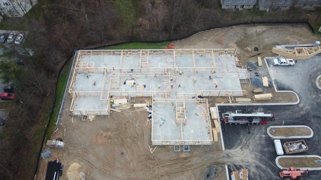 November 2020 construction update