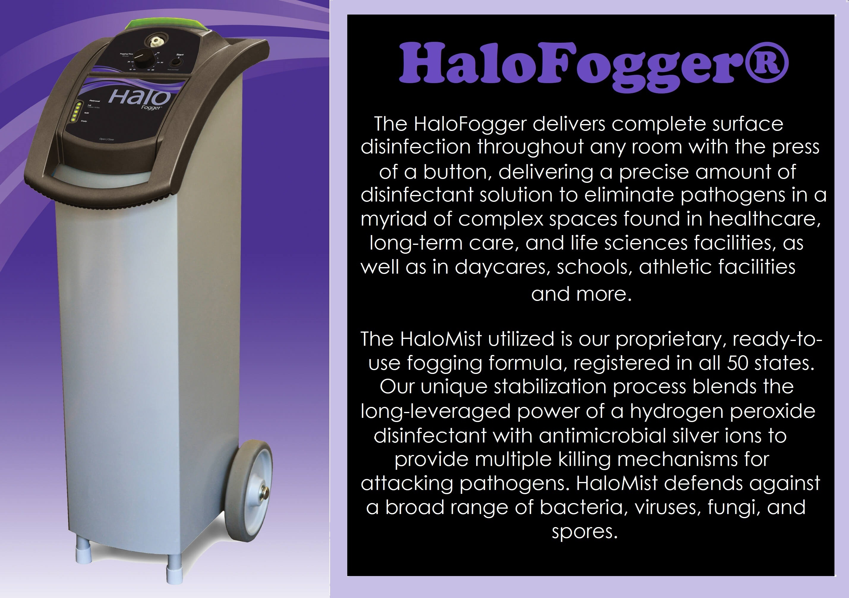 Halosil Fogger