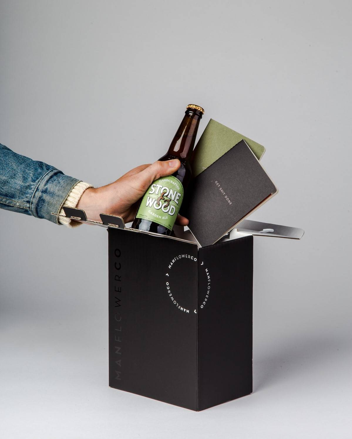 Toast to everyday occasions with the Productivity Pack, one of the beer gifts in Manflower Co's drinkable range.