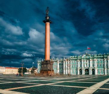 Топ 3 площади: Дворцовая, Сенатская, Исаакиевская с подъёмом на колоннаду