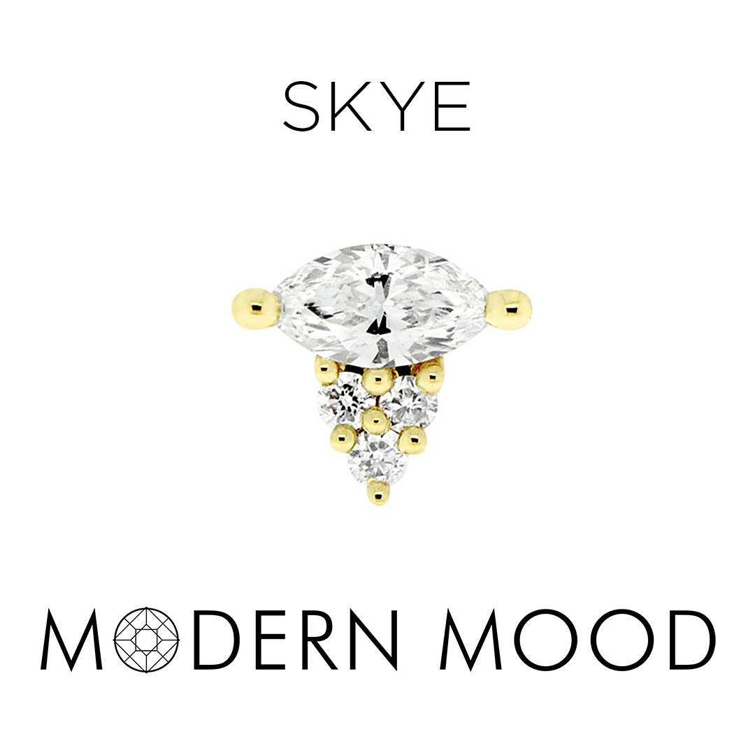 skye diamond piercing jewelry
