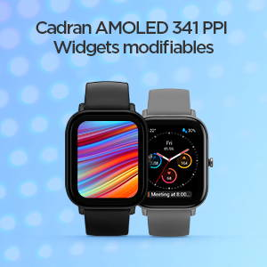 Amazfit GTS - Affichage AMOLED et widgets modifiables