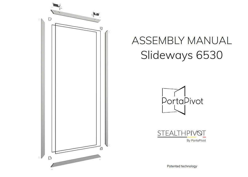 Slideways 6530 assembly manual