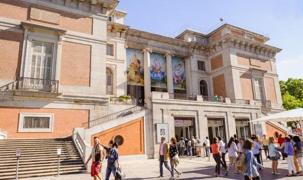 Мадрид: билет с прямым проходом в музей Прадо