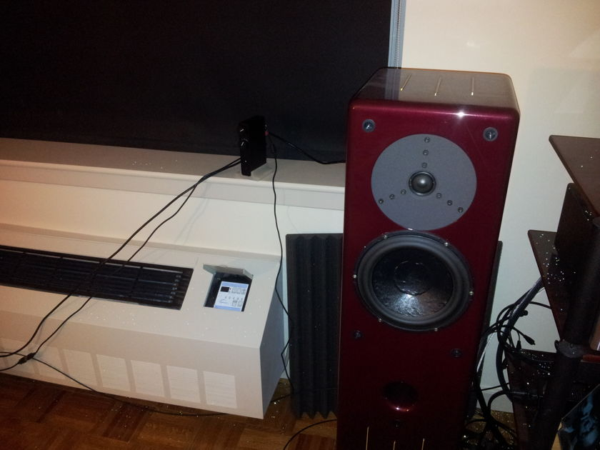 Merlin Music Systems VSM-MX BAM dual input RUBY HEART RED Great condition