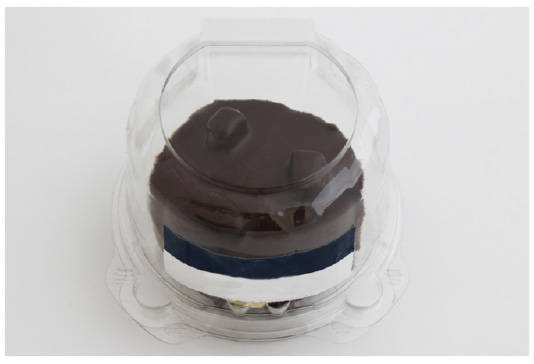 single serve container after makeover to eco friendly packaging for baked goods, canada