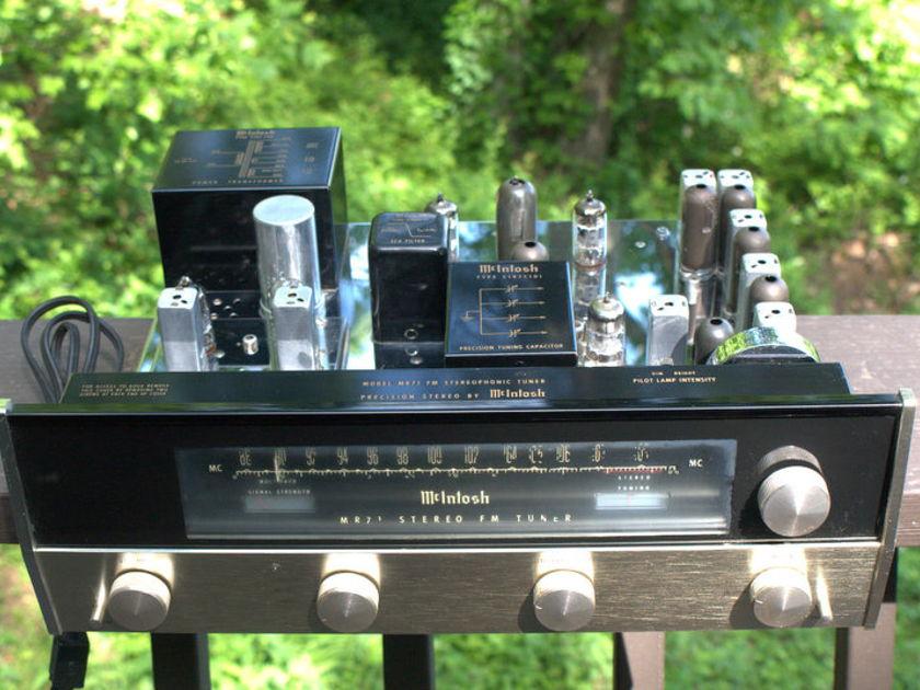 McIntosh MR 71 Tubed Stereo Tuner