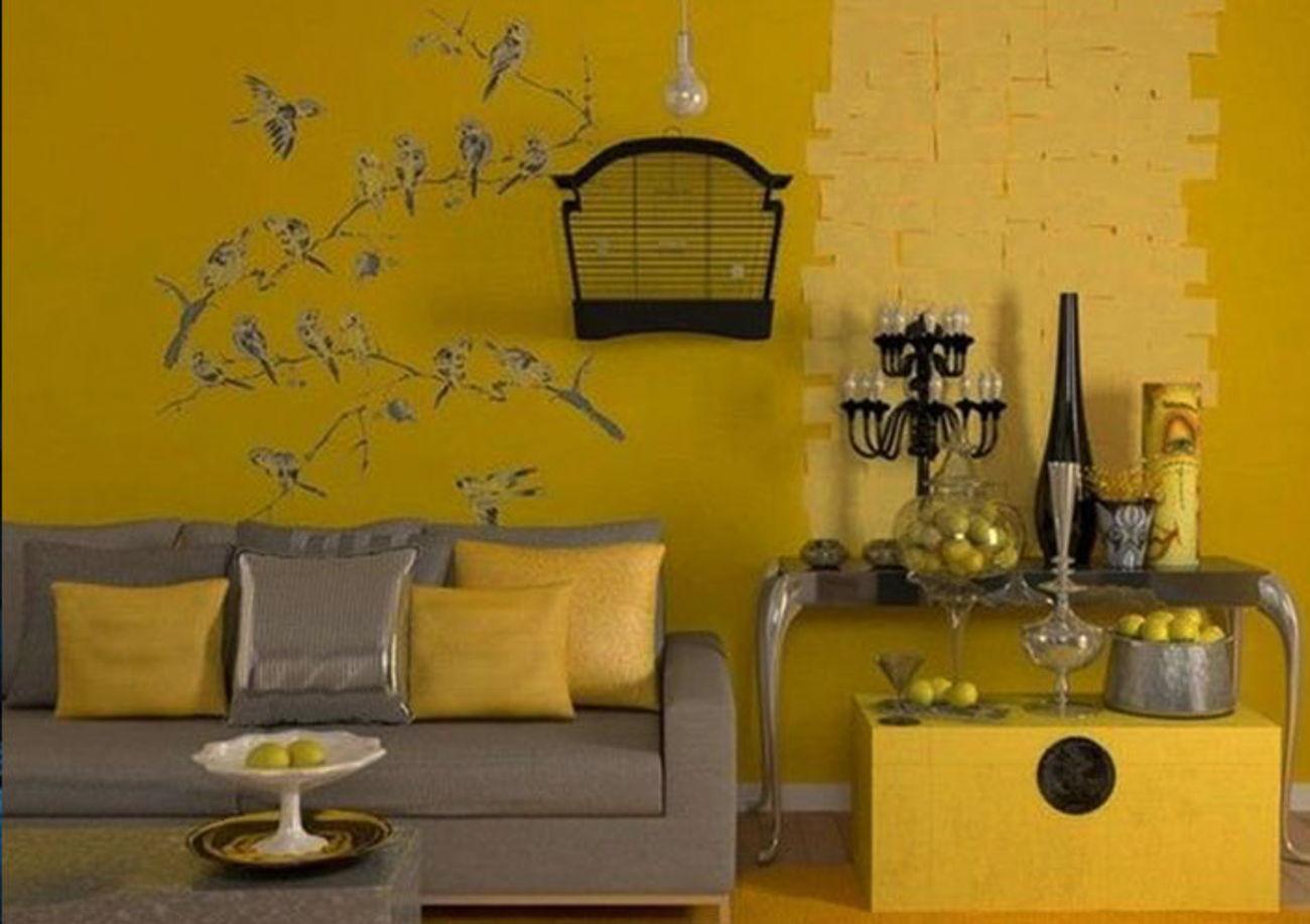 Yellow Monochromatic design