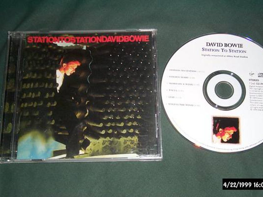 David bowie - Station To Station cd nm
