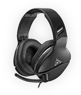 turtle beach recon 200 black gaming headset