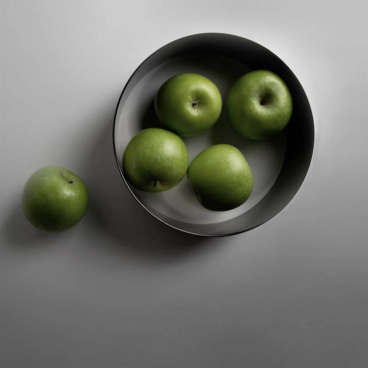Band in Brass with apples