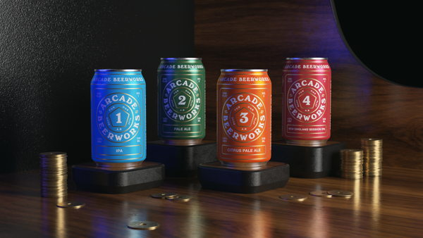 Arcade Beerworks - Good For One Play