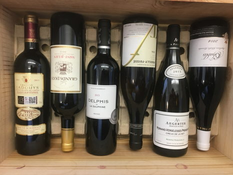 Six Bottles of World-Class French Wine
