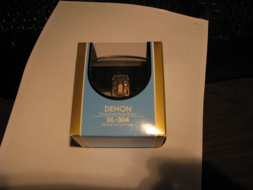 Denon MC Cartridge DL-304 NEW