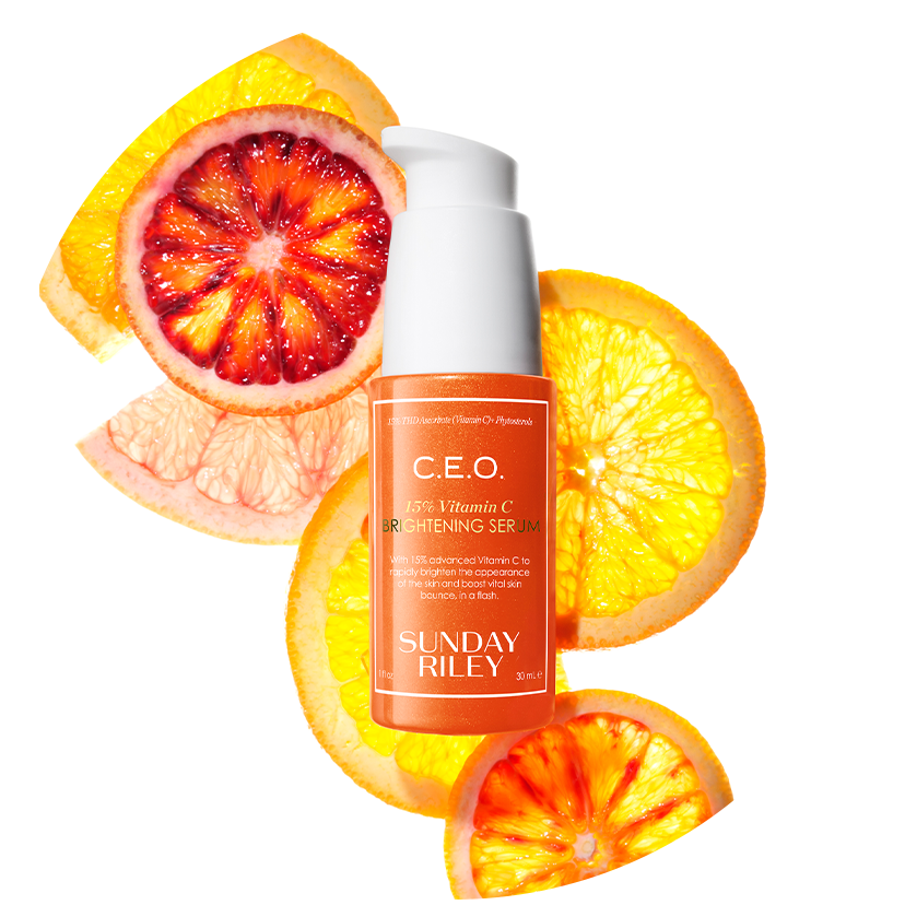 Vitamin C Ingredients: Image of C.E.O. Serum Bottle