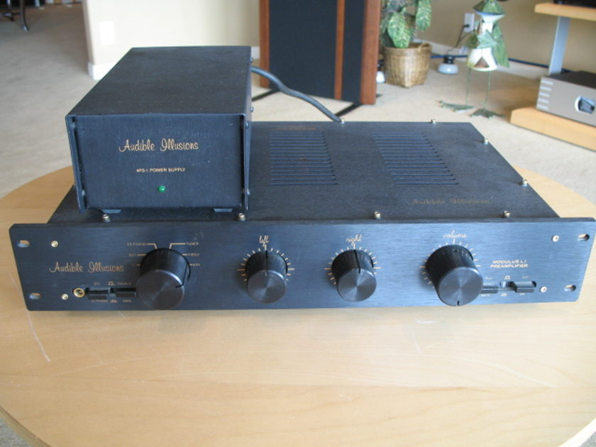 Audible Illusions Modulus L1 Tube Line Stage Preamp