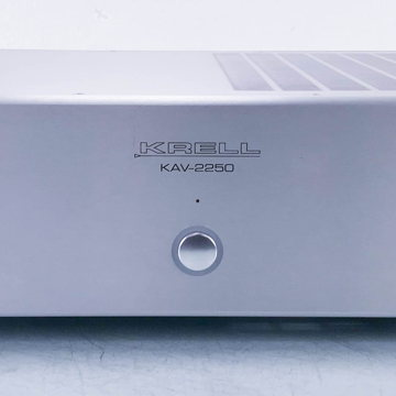 KAV-2250 Stereo Power Amplifier