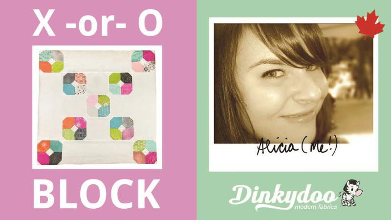 quilt tutorial how to make x and o block
