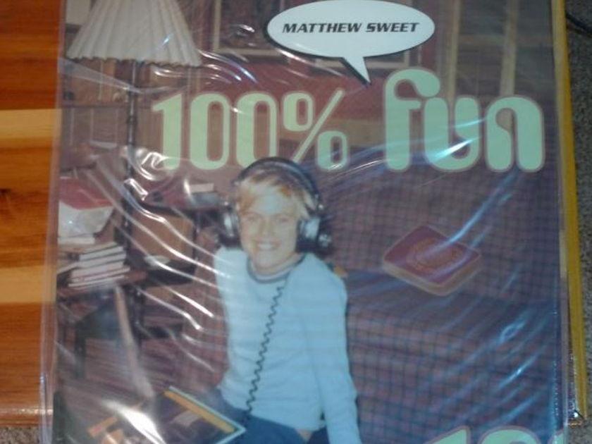 Matthew Sweet - 100% Fun Classic Records original reissue 180G 1990's Sealed