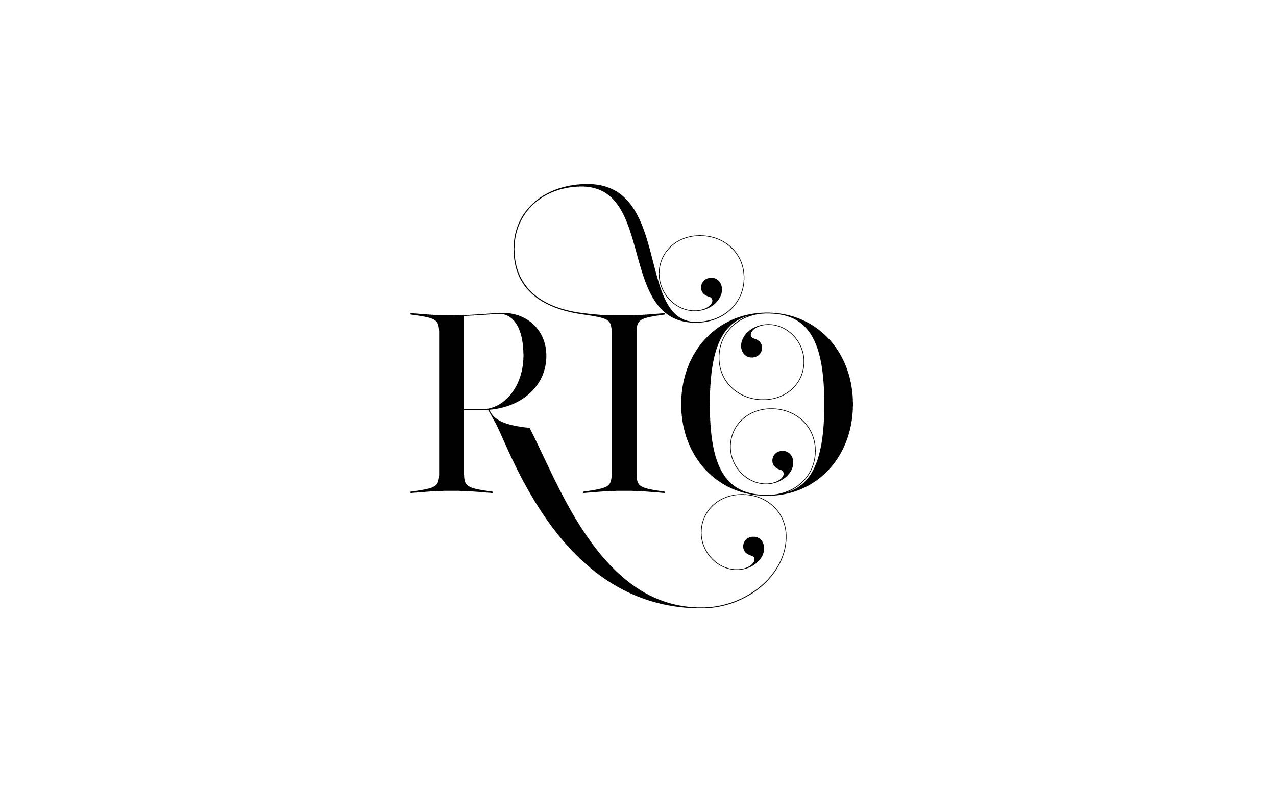 Rio - Custom sexy type collection by Moshik Nadav Typography