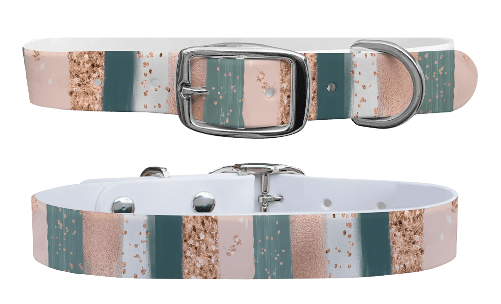 Blush strokes c4 dog collar