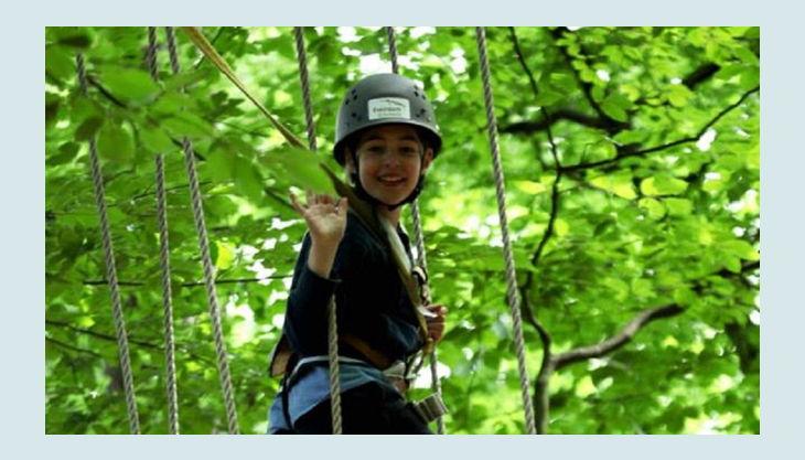 kletterwald freischütz seil brücke