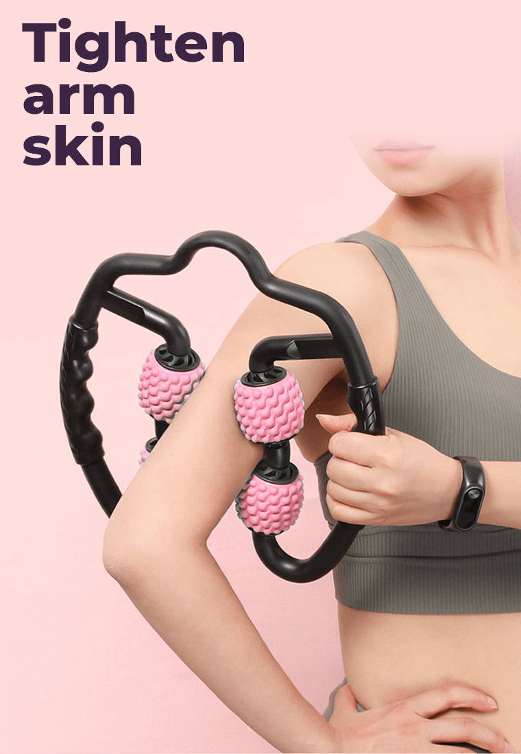 FitRoll Pro Cellulite Roller is the Best massage roller for cellulite. Anti Cellulite Massager and Myofascial Massager for Cellulite - FitRoll Pro