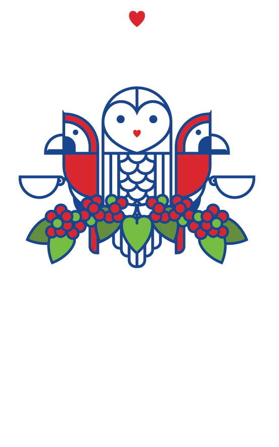 Alma Coffee Logo Art