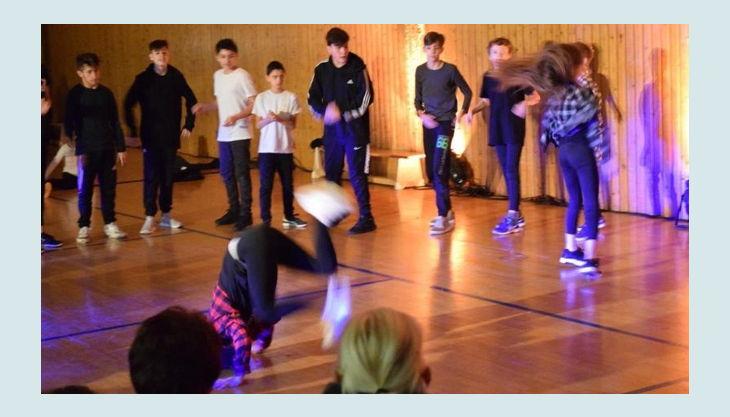 dance company training