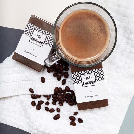 Отшелушивающее кофейное мыло (NATURAL EXFOLIATING COFFEE SOAP)