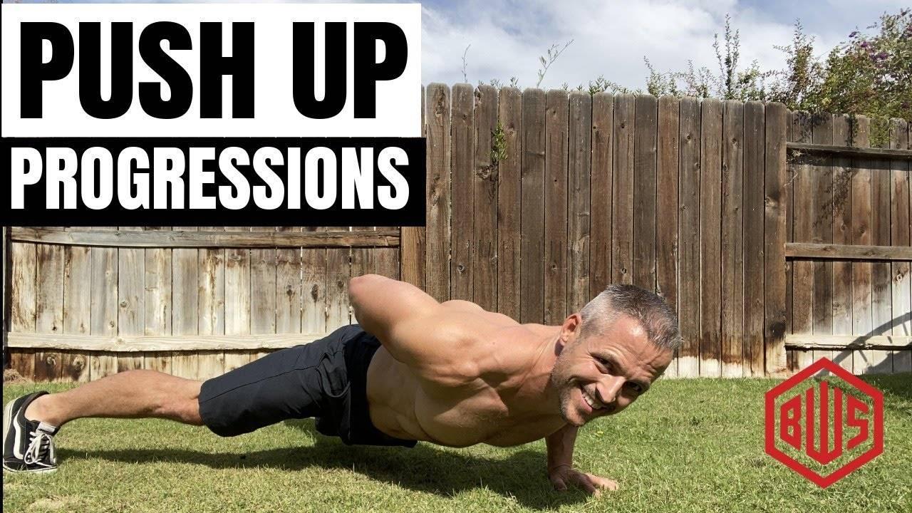 Push-up progressions
