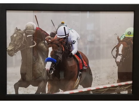Framed Photo of Justify