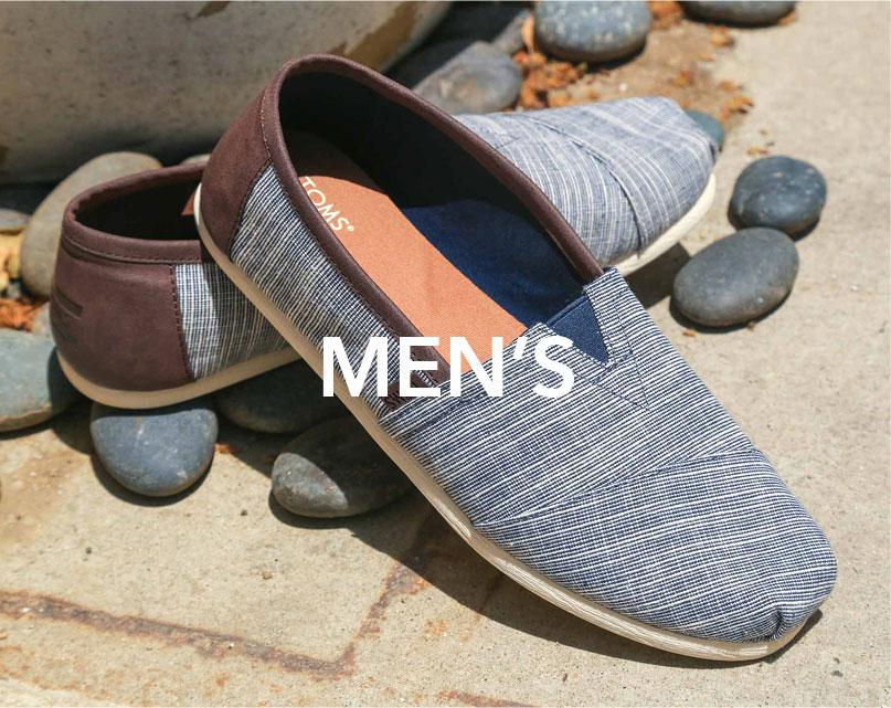 Men's Toms | Tiltedsole.com