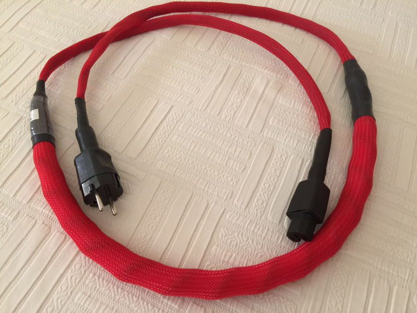 NBS Audio Cables Red Label Powercable Schucko Version
