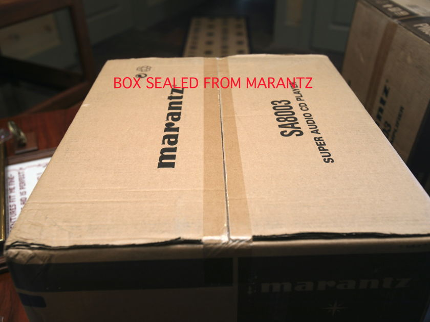 MARANTZ SA8003 STEREO SA-CD/ CD PLAYER