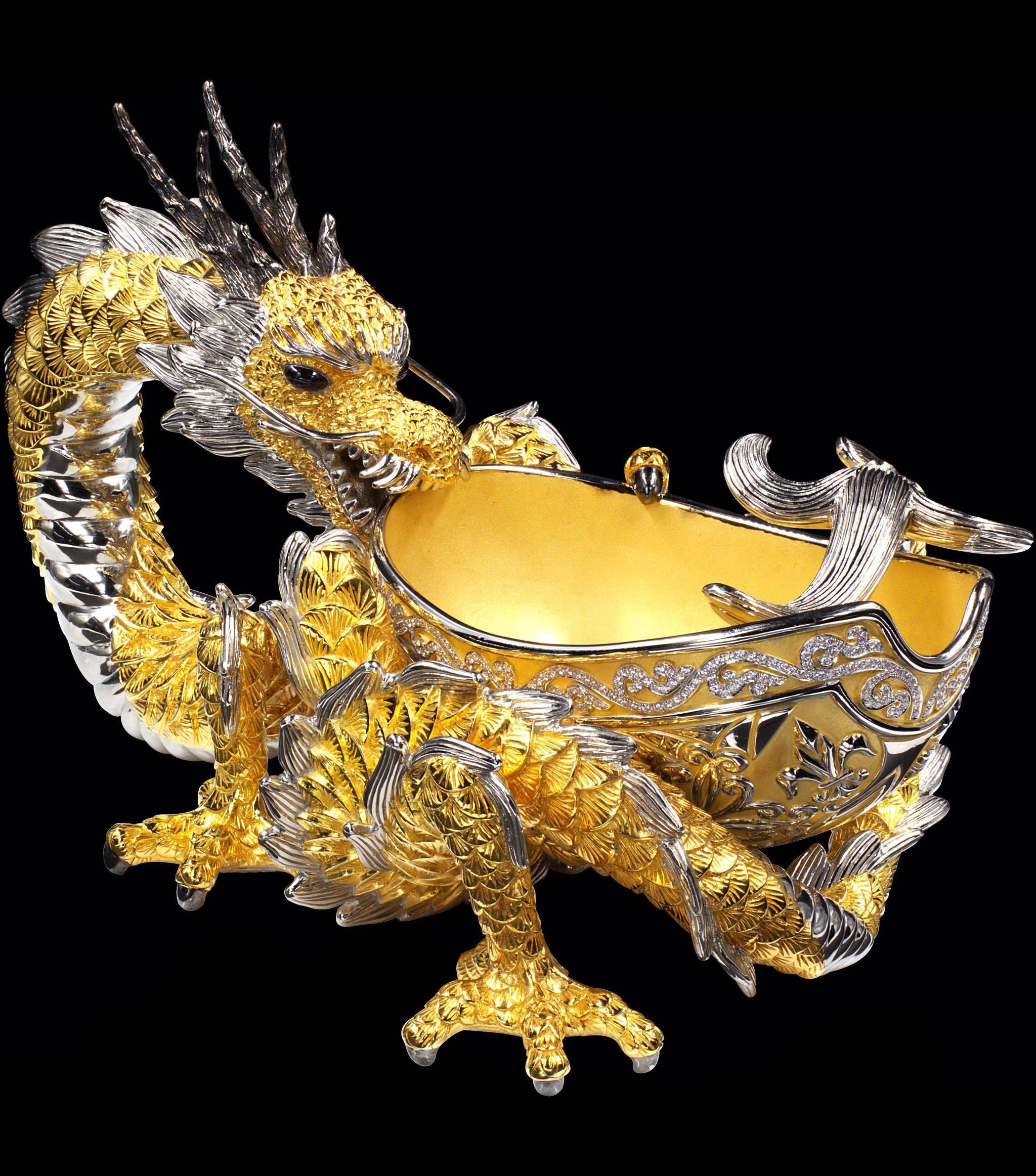 dragon cigar ashtray yveslemayjewelry
