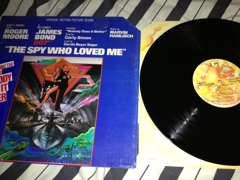 Soundtrack - The Spy Who Loved Me LP NM   Other   AudiogonThe Spy Who Loved Me Soundtrack