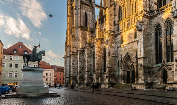 Регенсбург (с посещением старейшей монастырской пивоварни мира!)