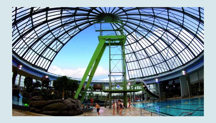 aquapark oberhausen panorama ansicht