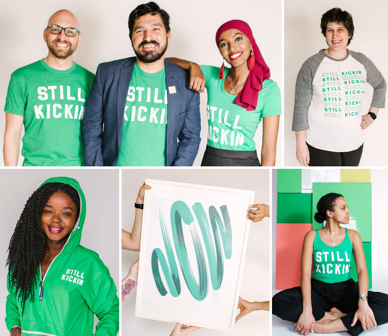 Still Kickin Joyful Kid Collection - Photo Collage