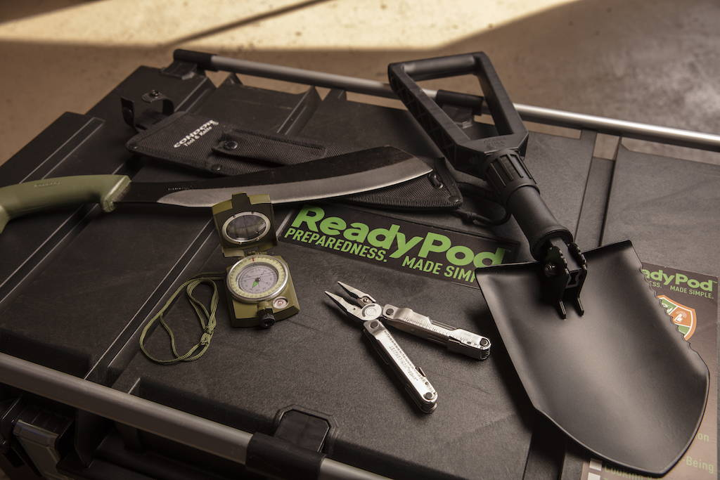 ReadyPod™ earthquake kits are complete with safety tools