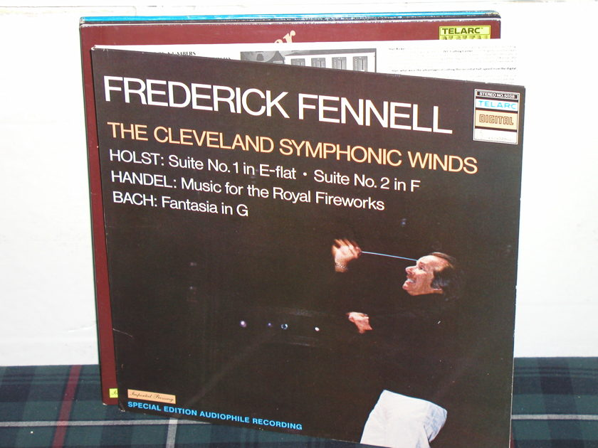 Fennell/EWE - Holst/Handel Telarc no.5038/Gatefold