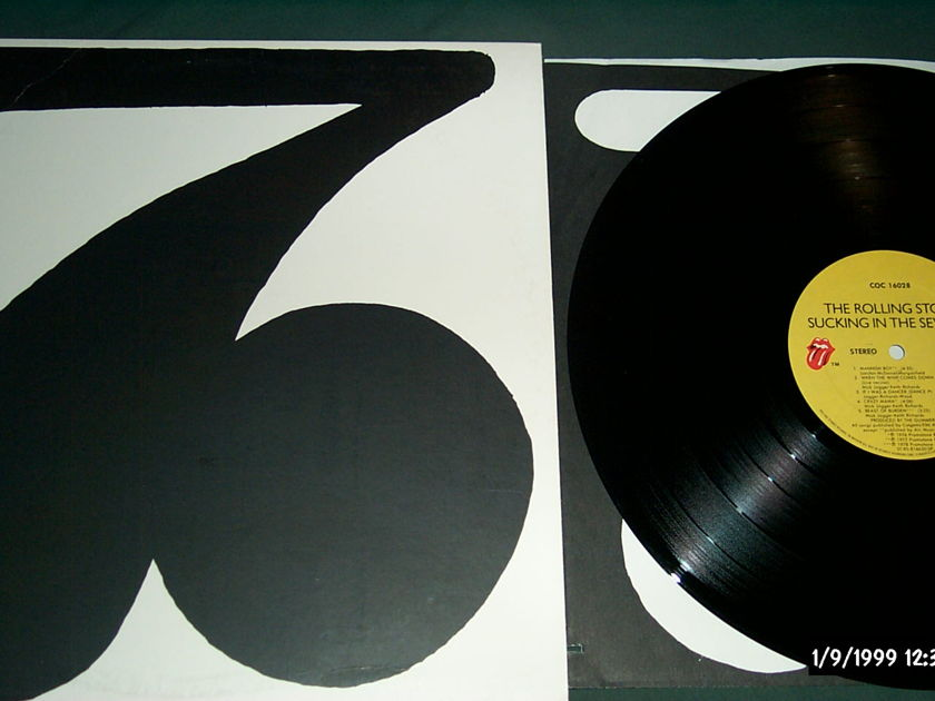 Rolling Stones - Sucking In The 70's  LP NM