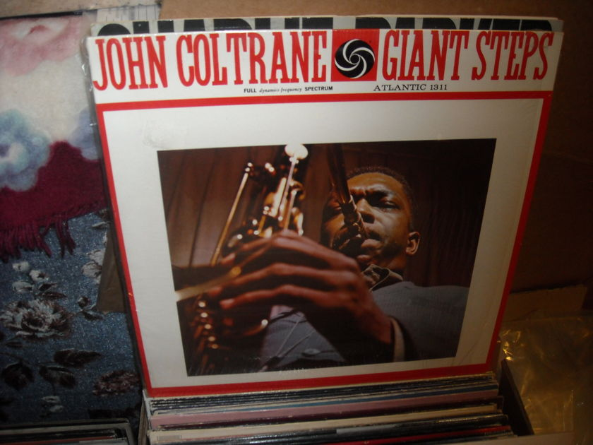 (lec) John Coltrane -  Giant Steps Atlantic  LP (c)