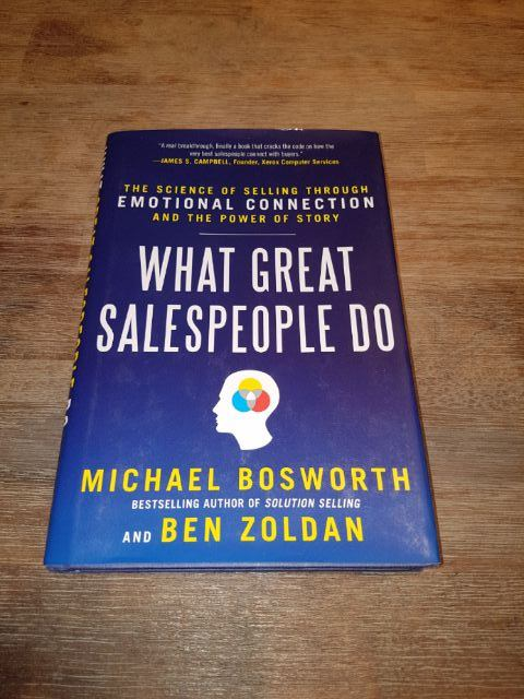 RENTERS BAY: What great salespeople do? Bosworth and Zoldan