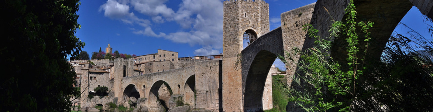 Поездка в Рупит и Бесалу, каталонскую глубинку