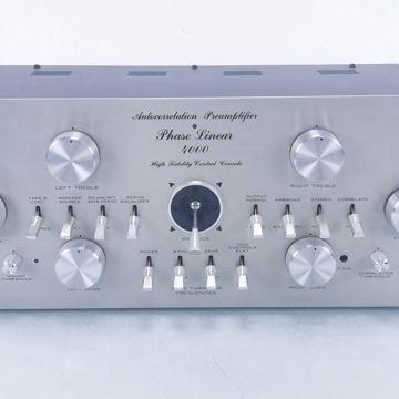 4000 Vintage Quadrophonic