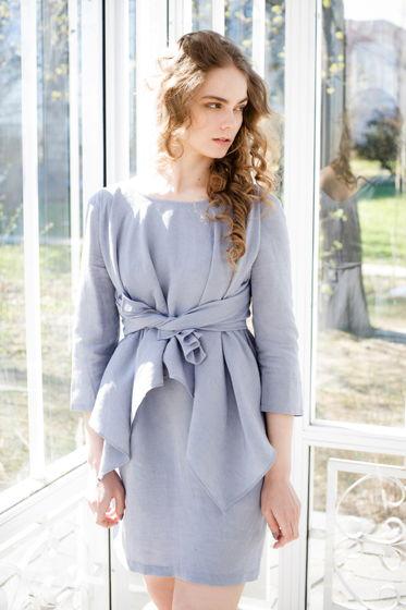Платье-трансформер изо льна