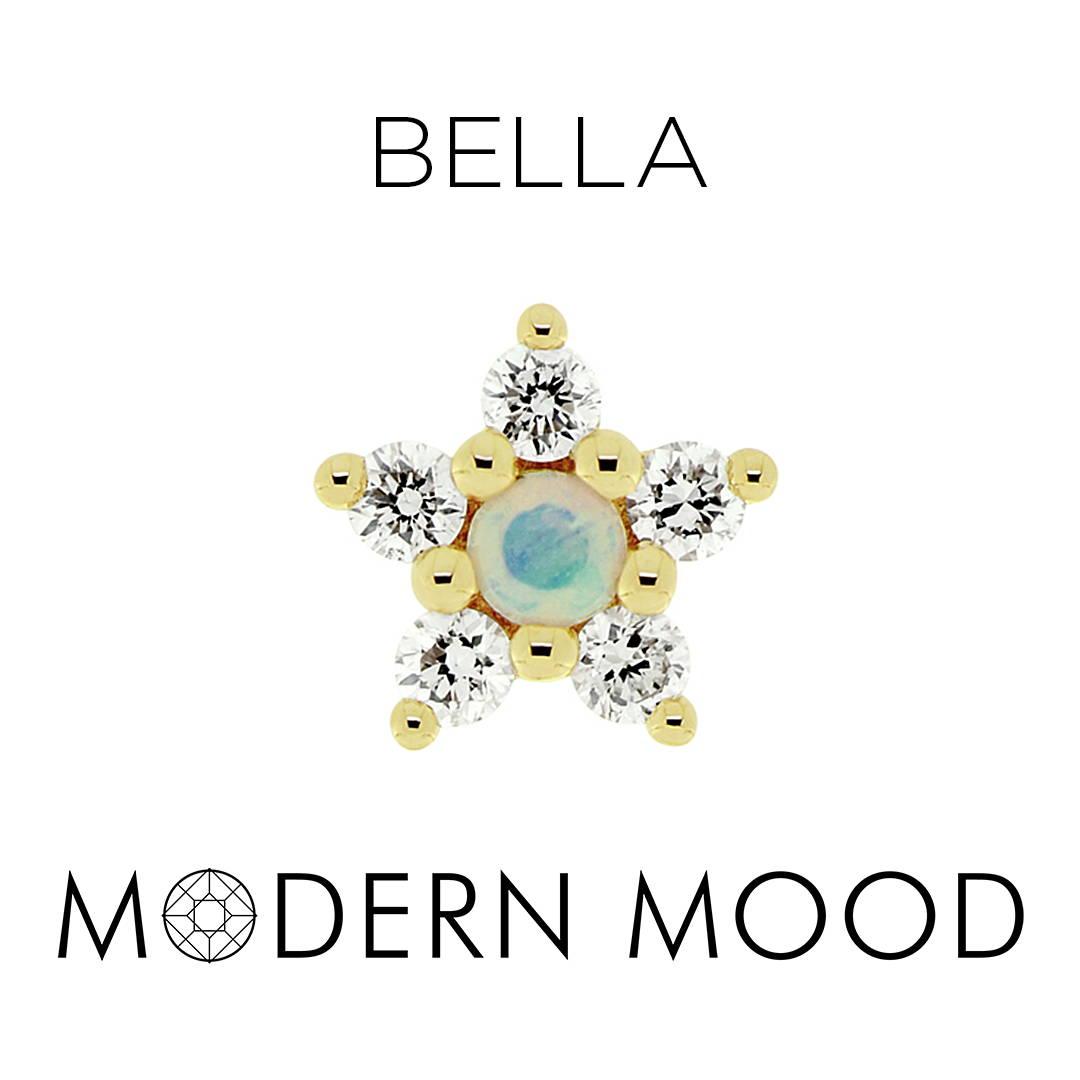opal star bella piercing jewelry